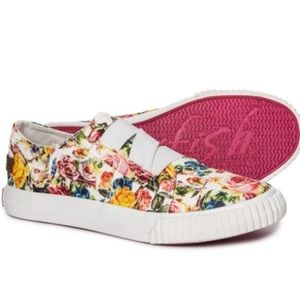 Blowfish Kids' Play-k Slip On Floral Sneaker Sz 3